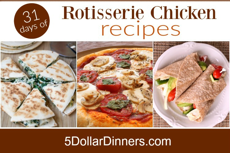 rotisserie chicken recipes SQ