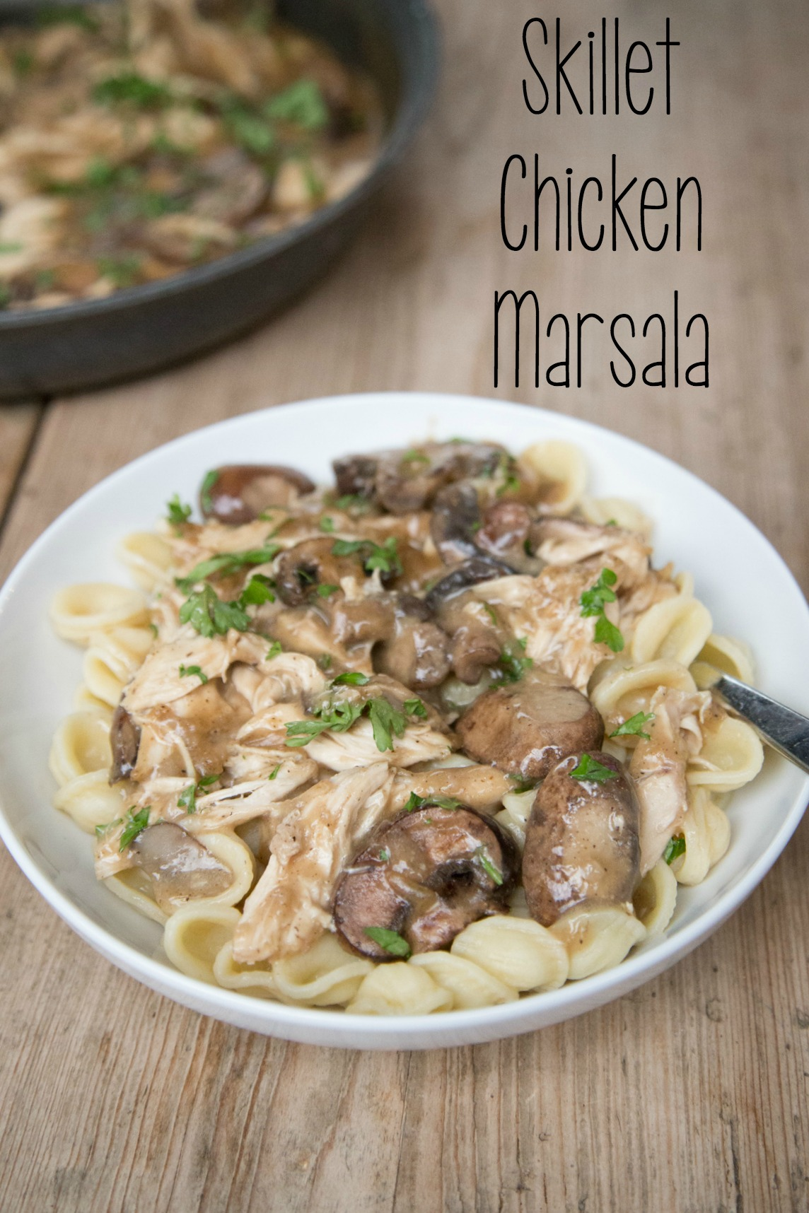 Skillet Chicken Marsala Recipe on 5DollarDinners.com