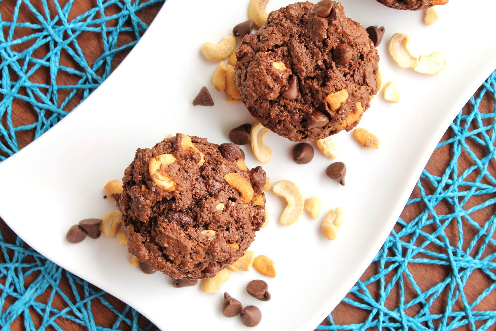 Chocolate Chip Cashew Muffins from 5DollarDinners.com