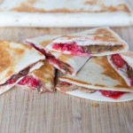 Raspberry & Chocolate Chip Quesadillas