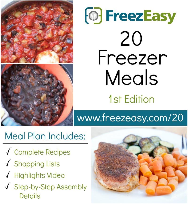 20 Freezer meals Freezeasy ed 1 SQ