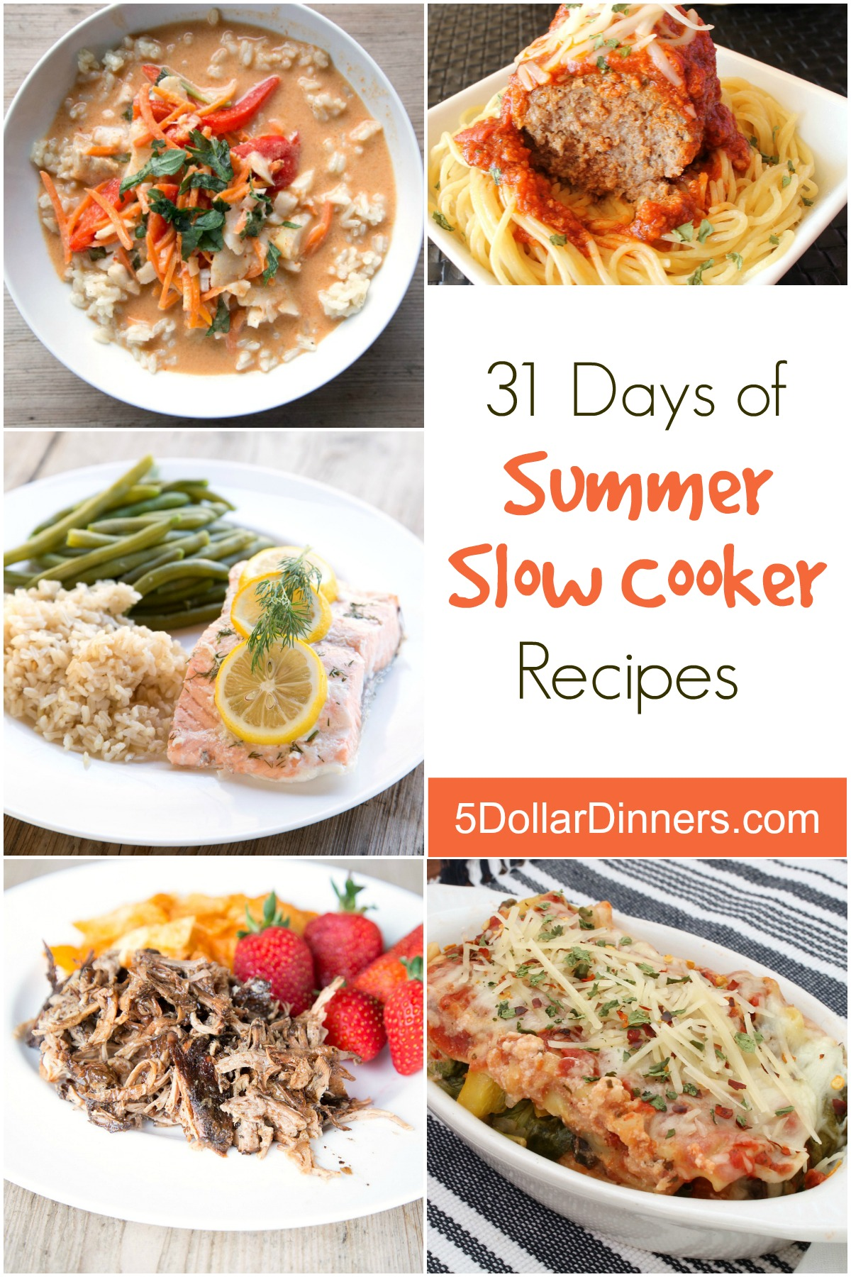 31 Days of Summer Slow Cooker Recipes