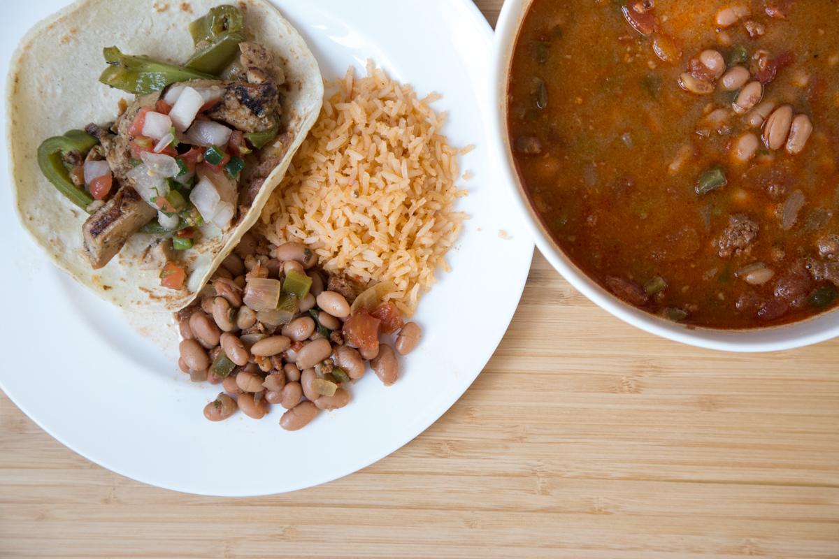 Borracho Beans with Chorizo