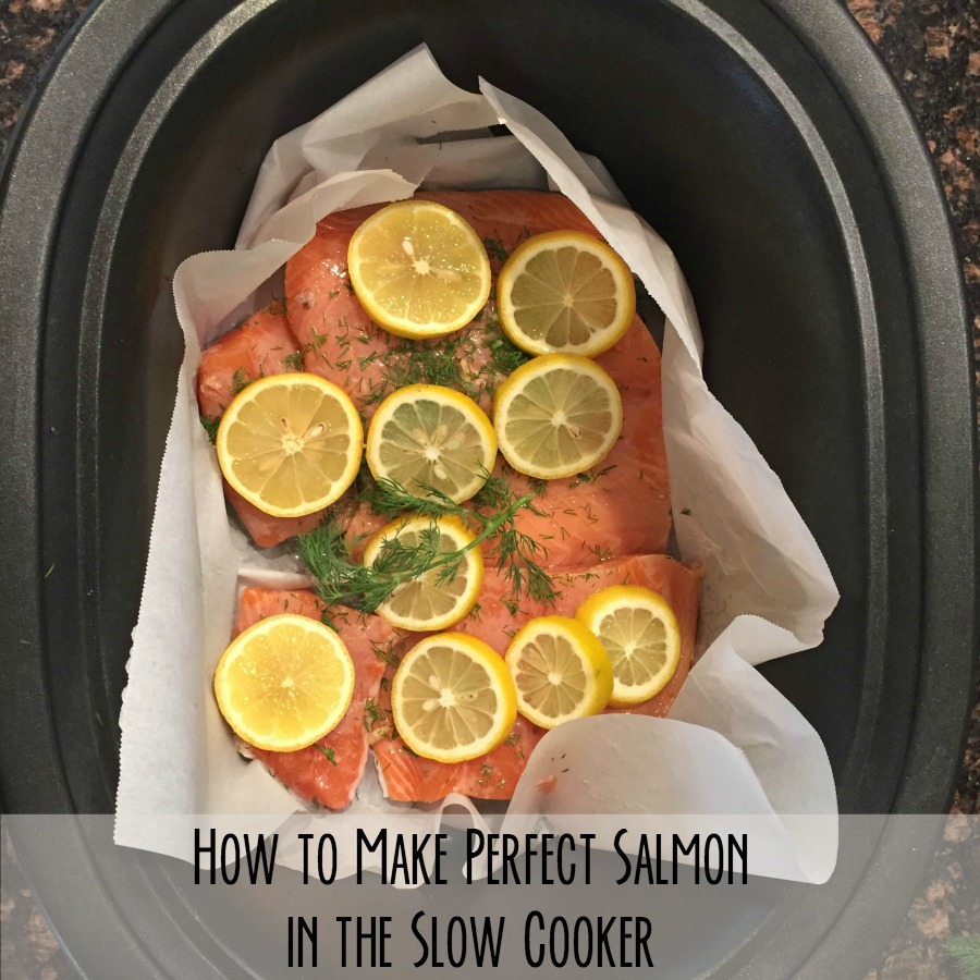 Slow Cooker Lemon Dill Salmon 5 Dinners Recipes Meal Plans