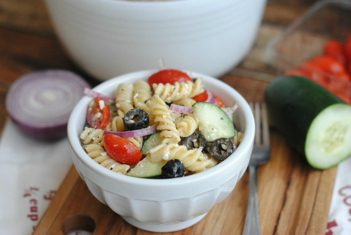 Greek Pasta Salad 4