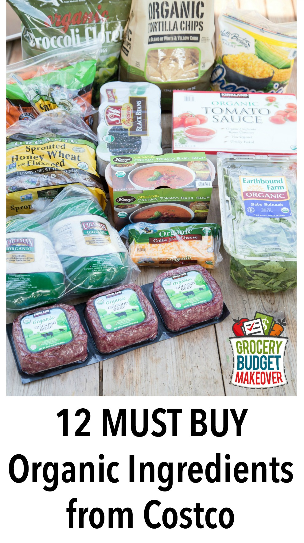 Must Buy Organic Ingredients from Costco (plus what to make with them!)