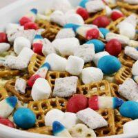 Patriotic Snack Mix Recipe from 5DollarDinners.com