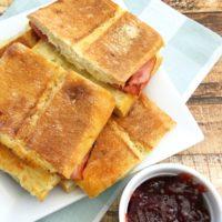 Ham and Cheese Panini from 5DollarDinners.com