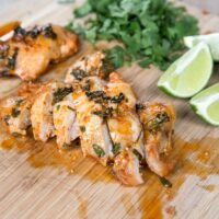 Freezer Friendly Cilantro Lime Chicken from 5DollarDinners.com