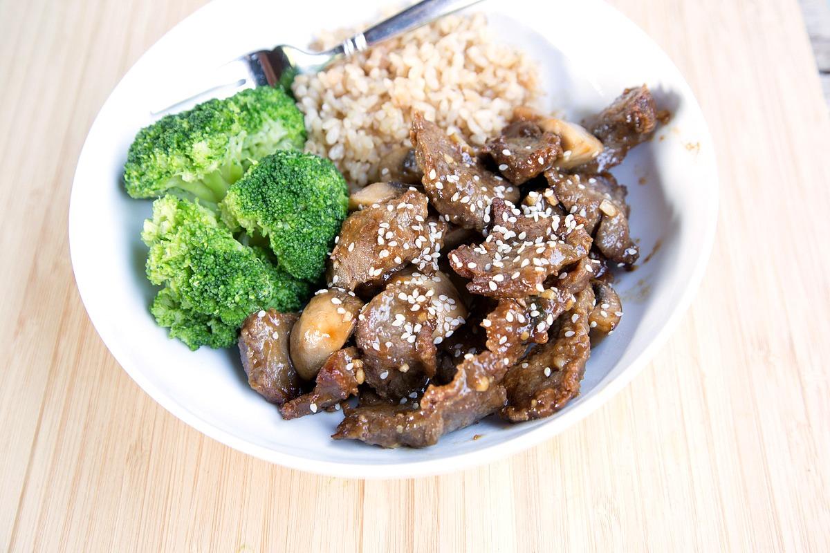Teriyaki Beef and Veggie Stirfry