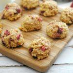 Strawberry Oatmeal Cookies