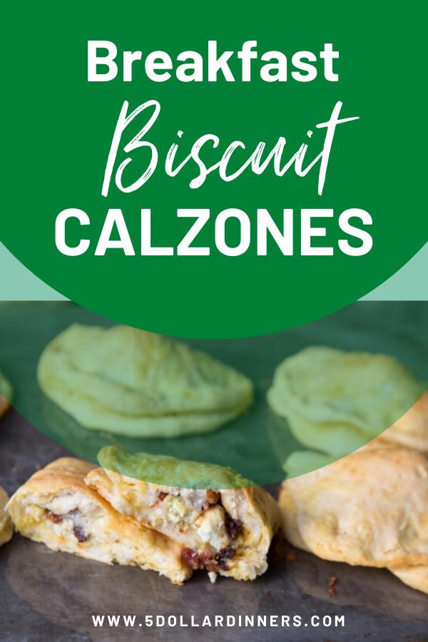 breakfast biscuit calzones