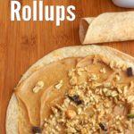 Crunchy Peanut Butter Rollups from 5DollarDinners.com
