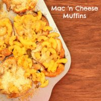 Mac n Cheese Muffins ~ kid friendly recipe from 5DollarDinners.com