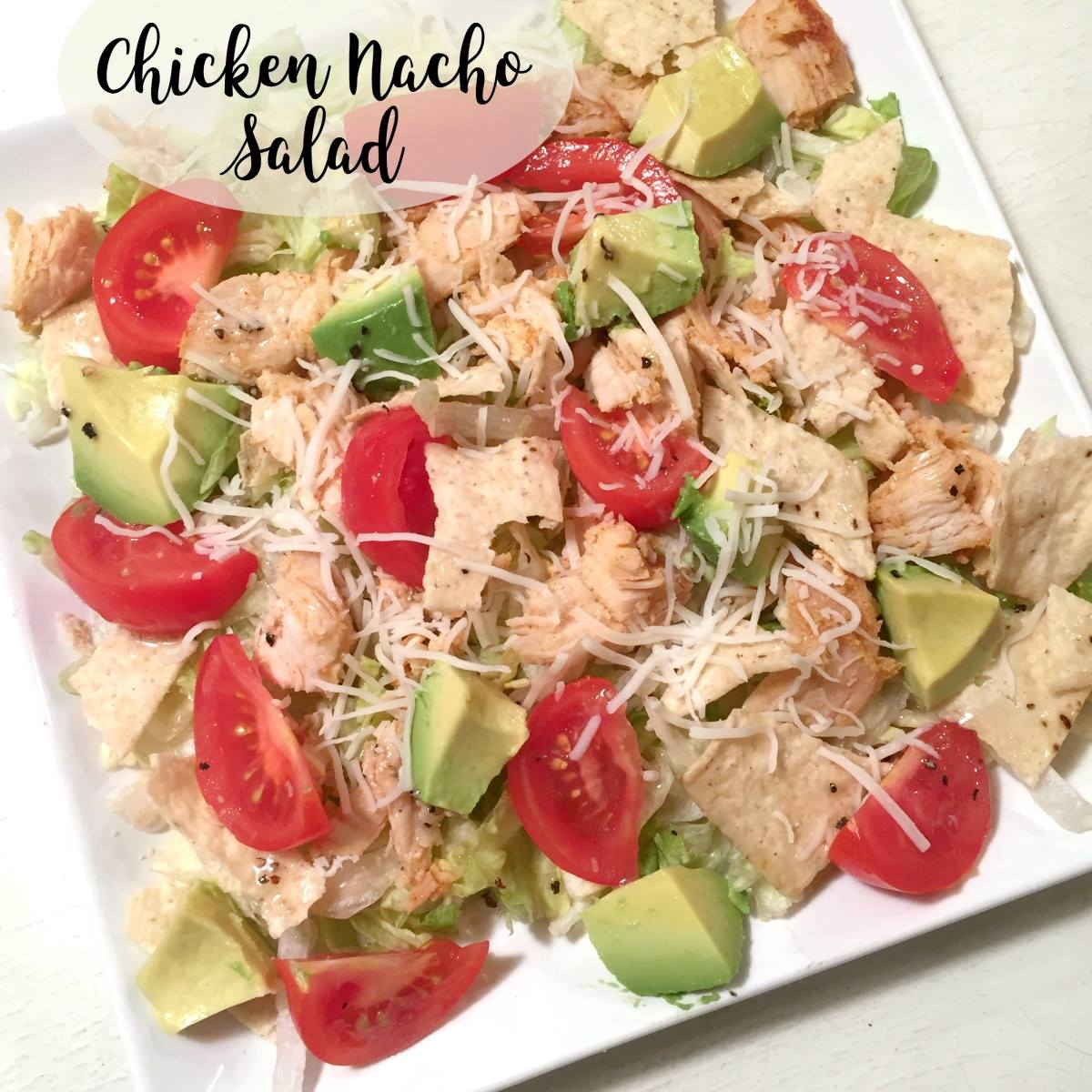 Chicken Nacho Salad 5 Dollar Dinners