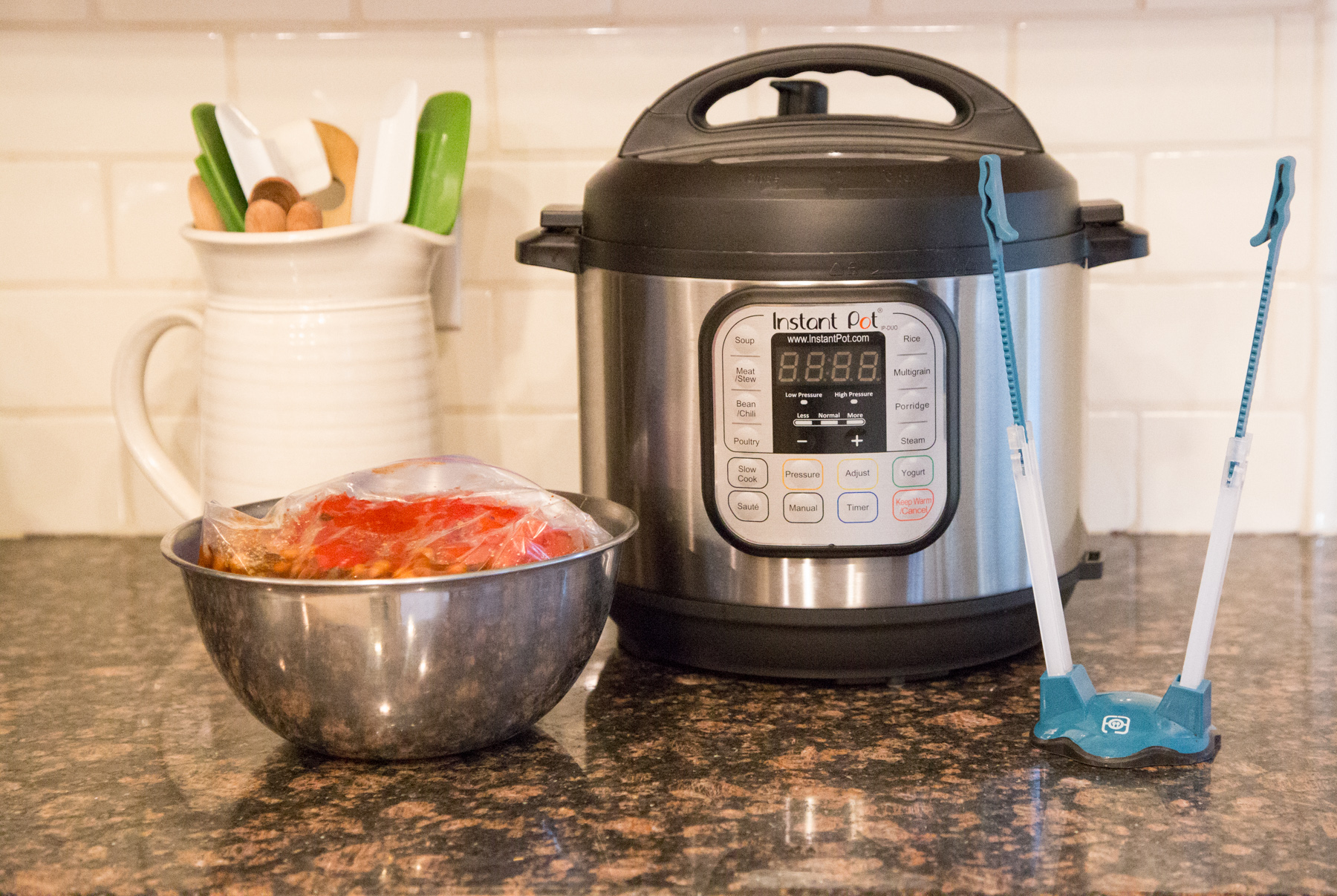 Freezer To Instant Pot Chili Recipe
