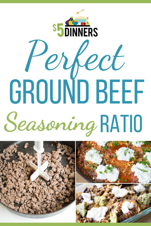 Perfect Ground Beef Seasoning Recipe