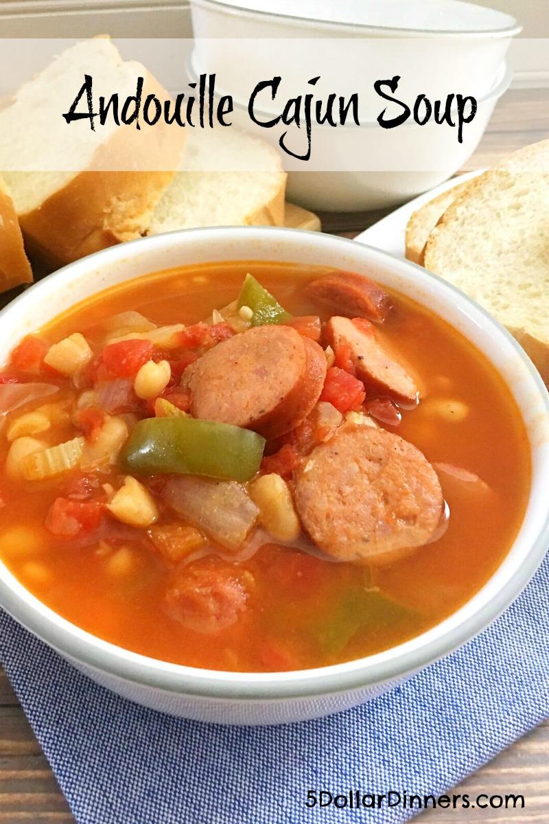 andouille cajun soup