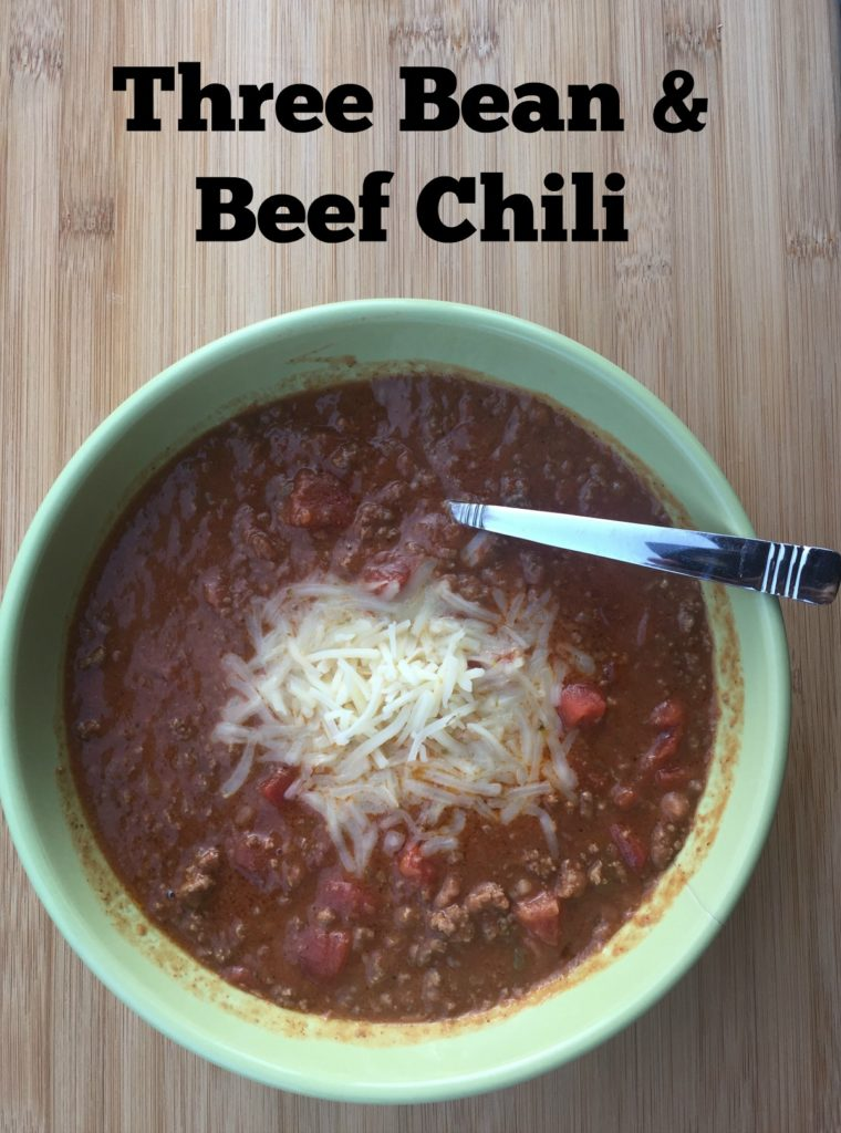 Instant Pot Three Bean Chili Recipe ~ From Frozen Solid to ...