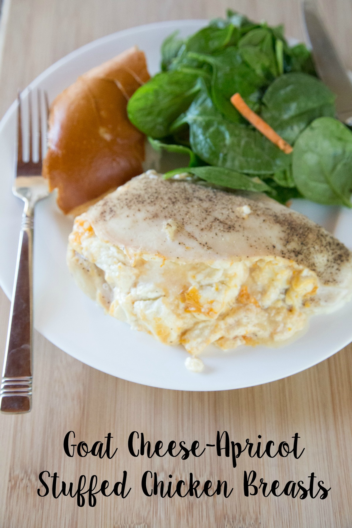 goat cheese apricot stuffed chicken breasts
