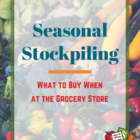 seasonal stockpiling