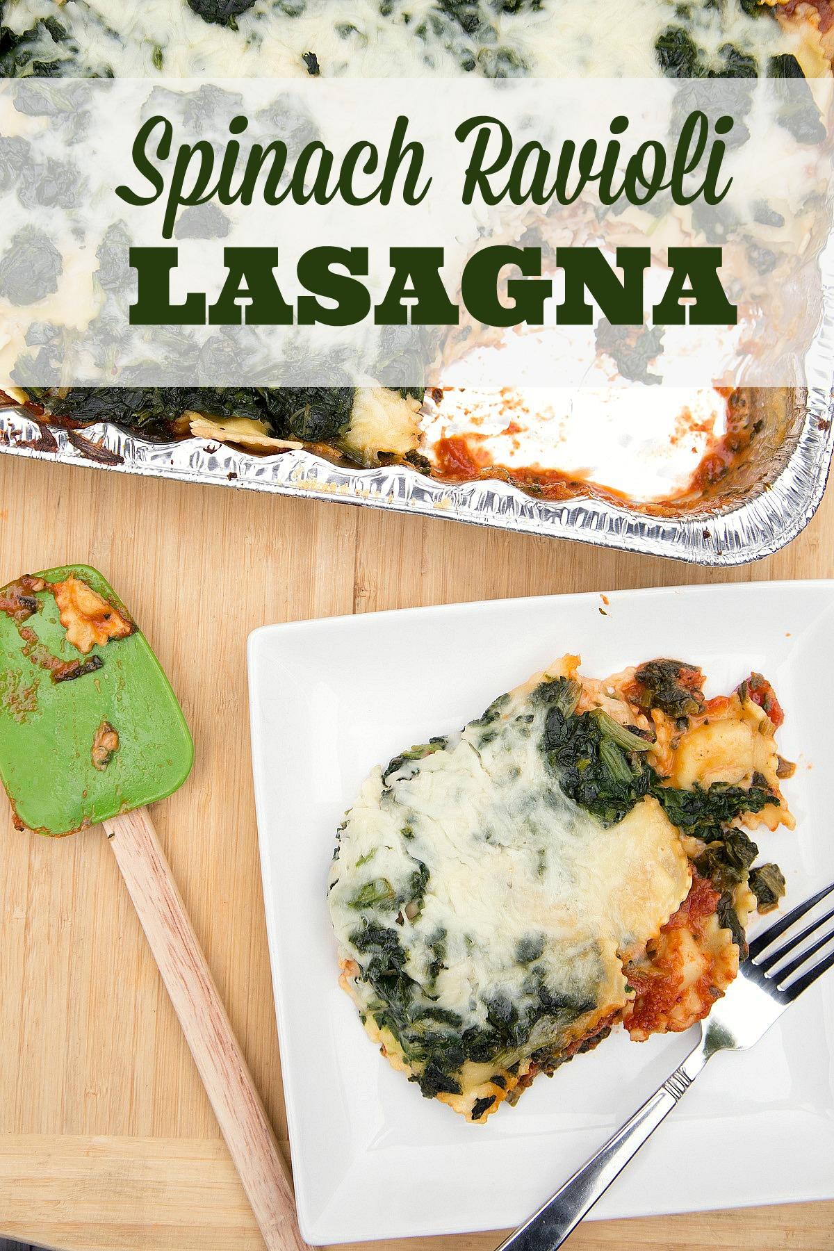 Spinach Ravioli Lasagna.... : $5 Dinners - howlDb