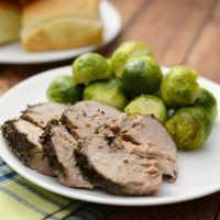 IP Herb Pork Tenderloin