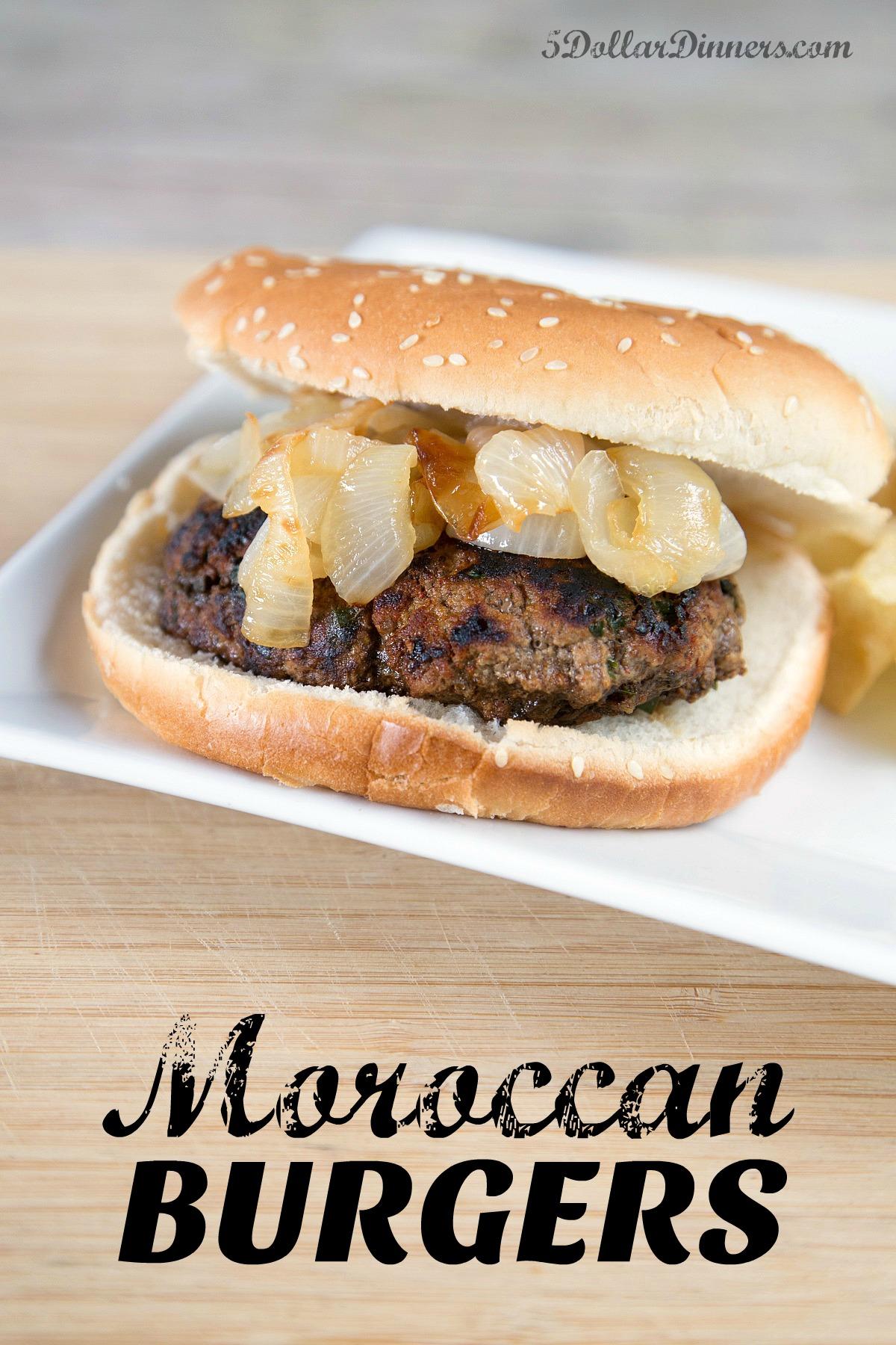 moroccan burgers