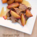 Instant Pot Plum Pork Tenderloin