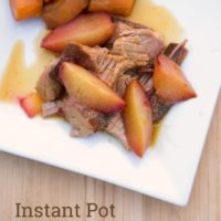 Instant Pot Plum Pork Tenderloin from 5DollarDinners.com