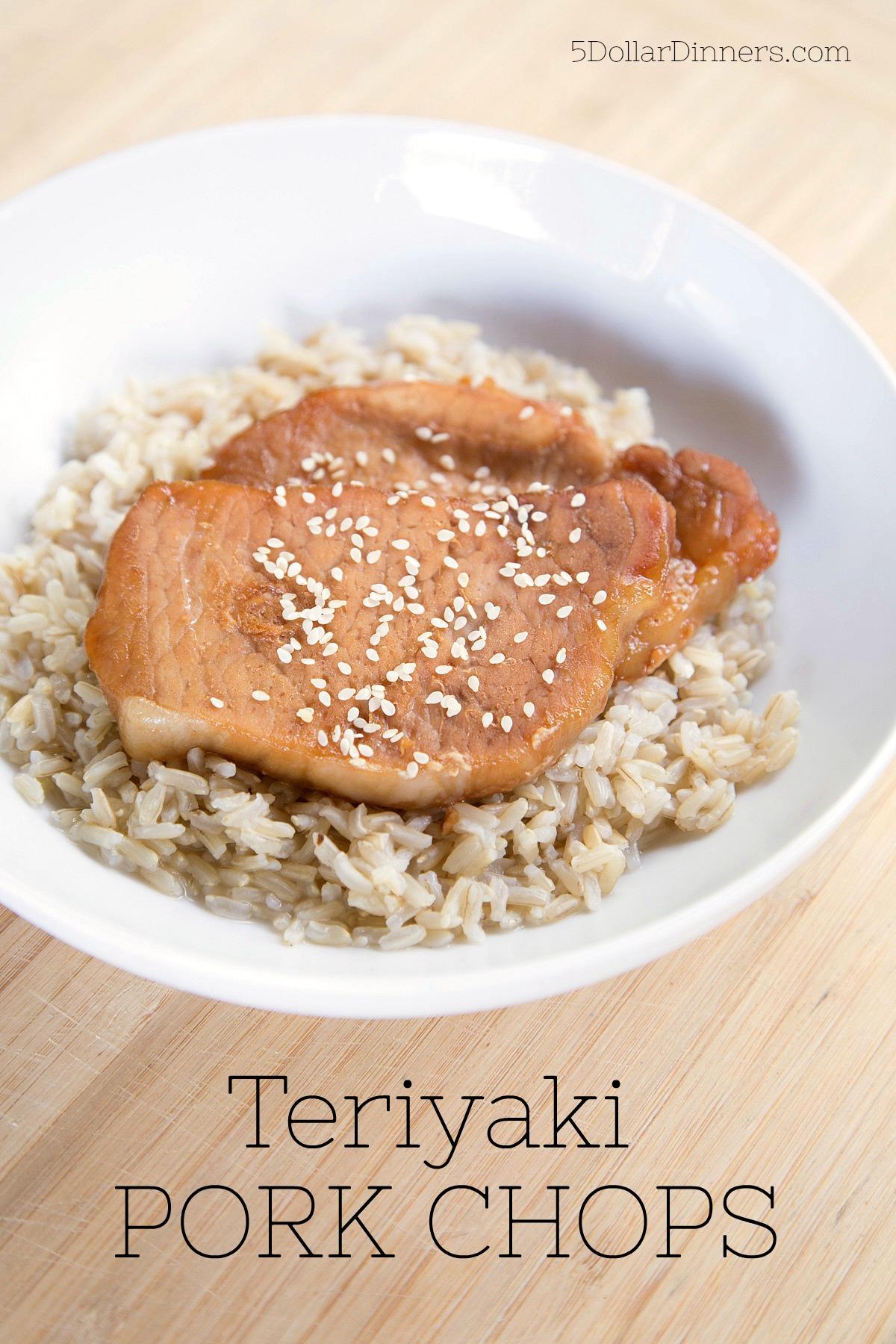 Teriyaki Pork Chops