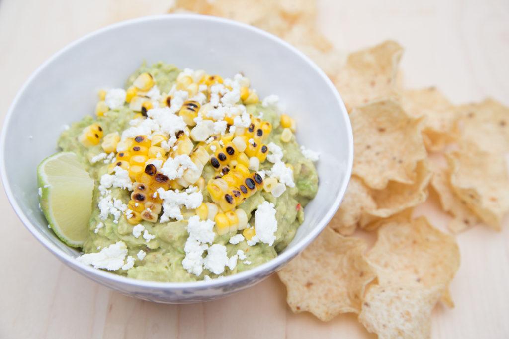 guacamole with street corn