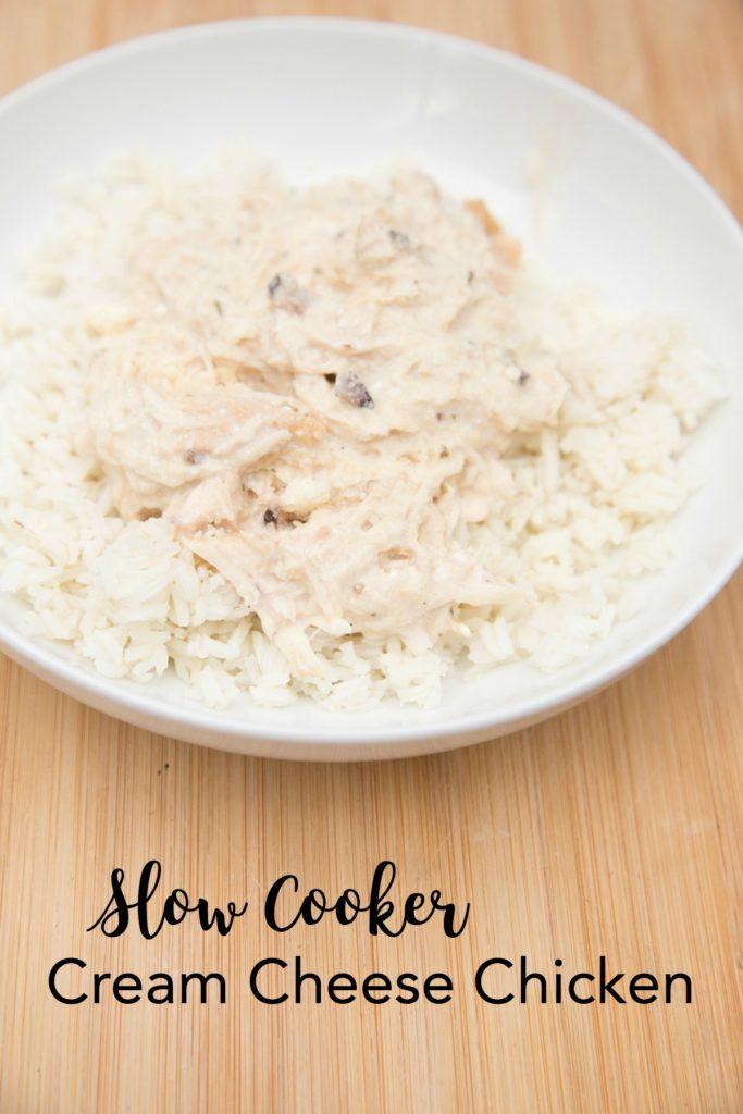 slow cooker cream cheese chicken