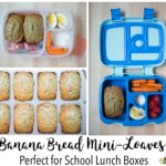Best Banana Bread Mini-Loaves (Perfect for Lunchboxes!)