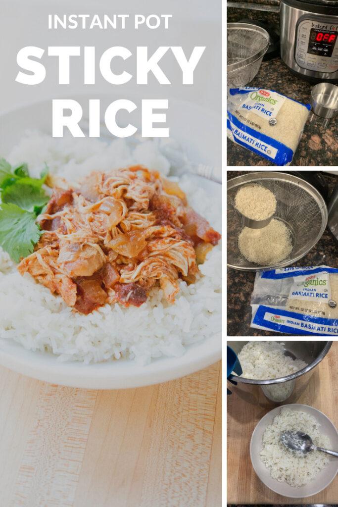 instant pot sticky rice recipe
