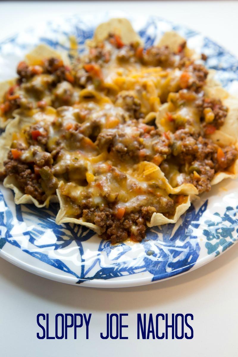sloppy joe nachos