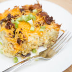 Hashbrown Egg Casserole ~ Perfect Holiday Brunch or Breakfast!