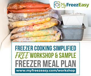 Freezer Cooking Simplified: MyFreezeasy