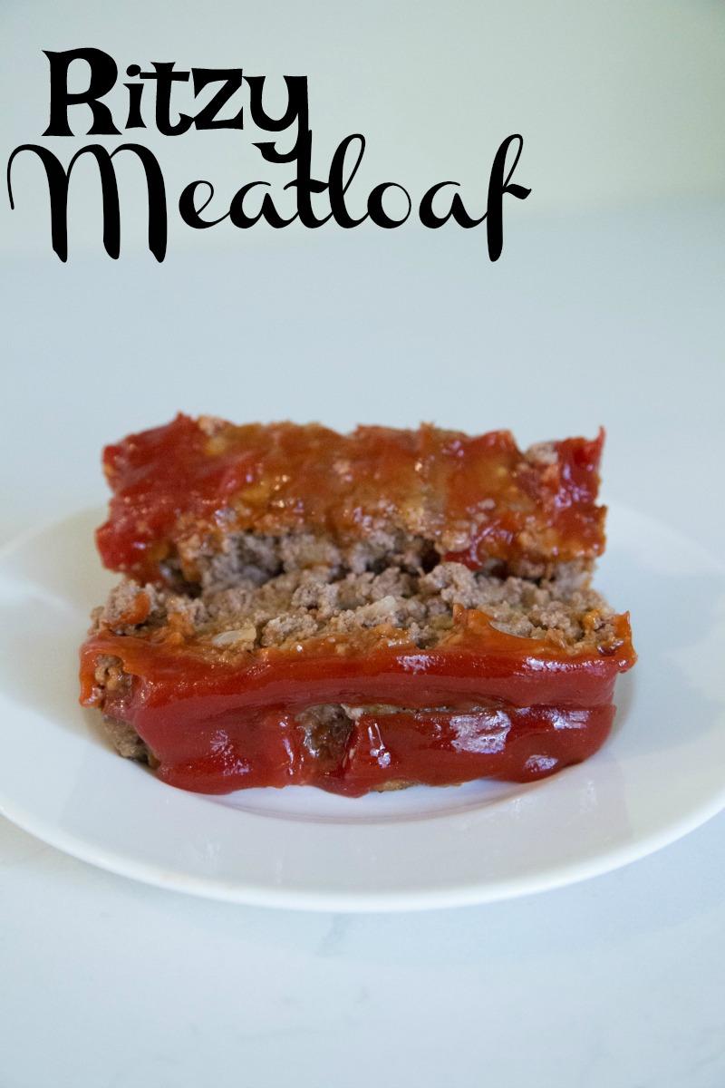 ritzy meatloaf recipe