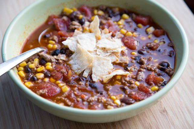 multi cooker taco soup