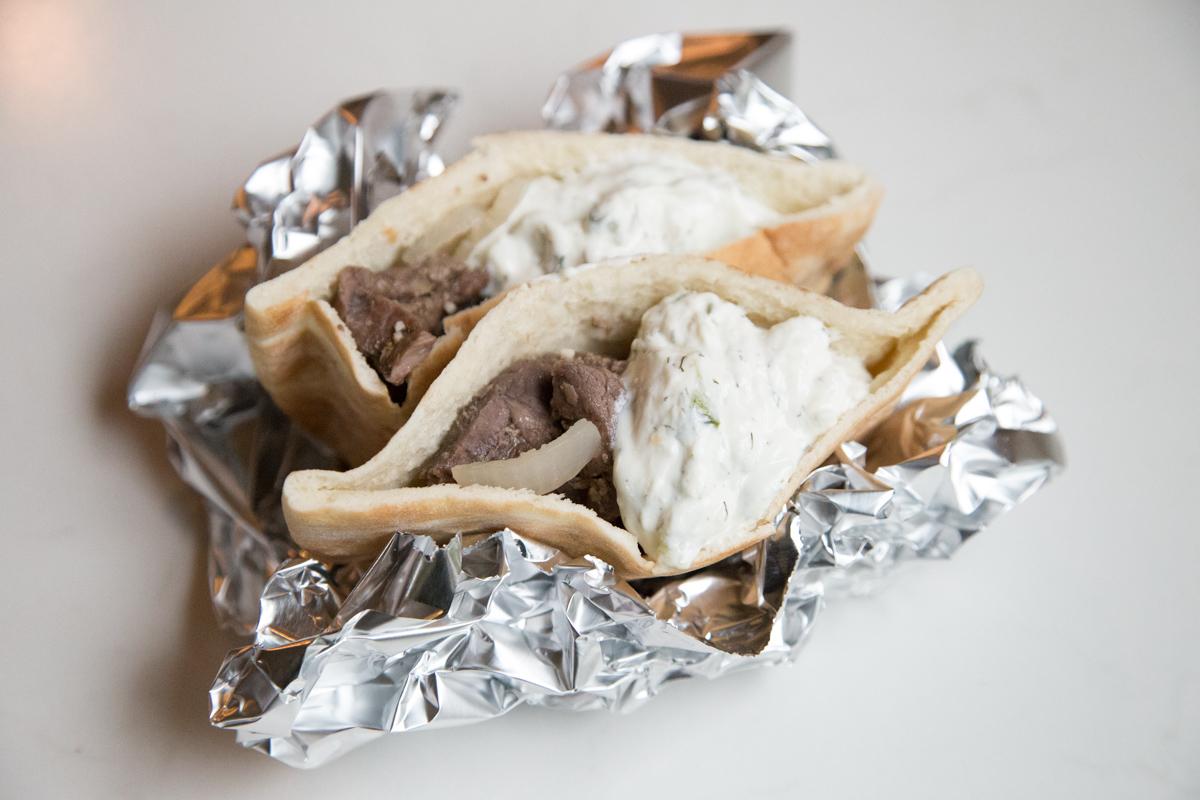 An Instant Pot Steak Gyro Recipe that everyone will love on 5DollarDinners!