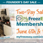 MyFreezEasy – Save on Memberships During Founder's Day Sale!