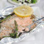 Salmon & Asparagus Foil Packs