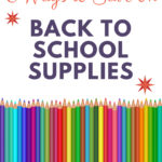 6 Ways to Save on Back to School Supplies from 5DollarDinners.com