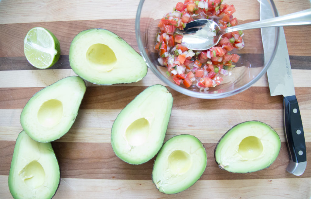 Pico Guacamole in a pinch! The perfect appetizer or snack for any party or just because....on 5 Dollar Dinners!!!