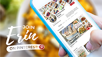 Join Erin on Pinterest