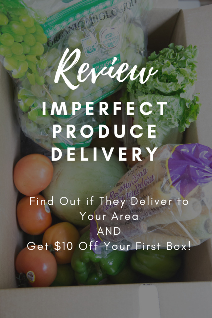 Great way to save money on Organic Produce - Imperfect Produce Review!