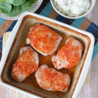 How to Bake Sweet Thai Chili Pork Chops