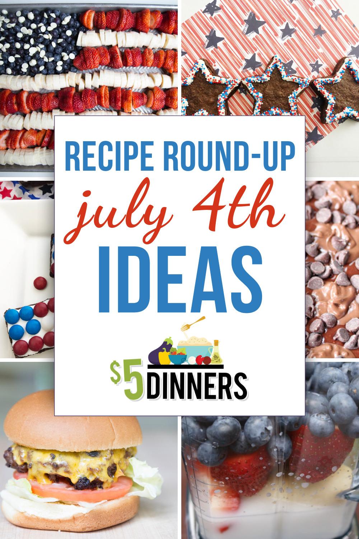 July 4th Recipes Ideas
