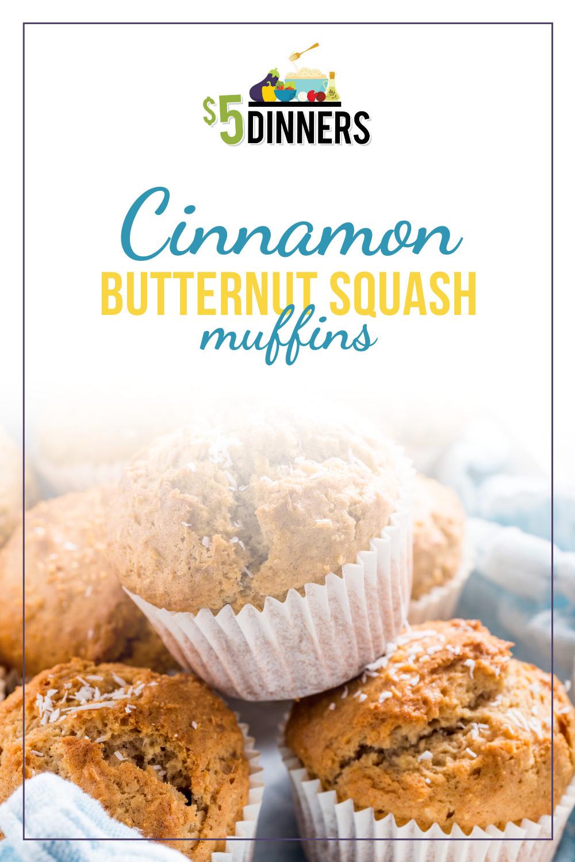 cinnamon butternut squash muffins